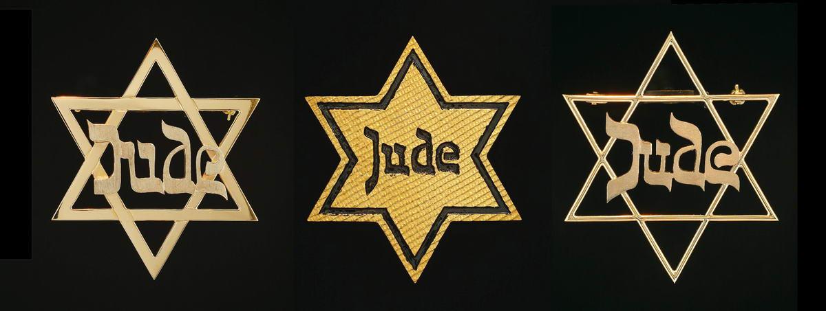 104JUDE _2001-2002_3 gold brooch, 18 carat_5 x 5 cm