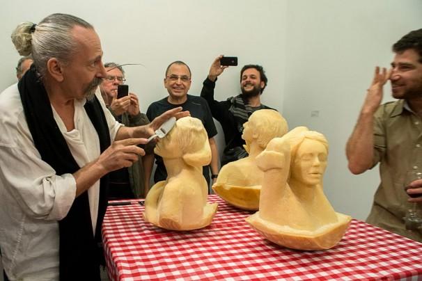108Cheesy Sculpture_2013_parmesan cheese