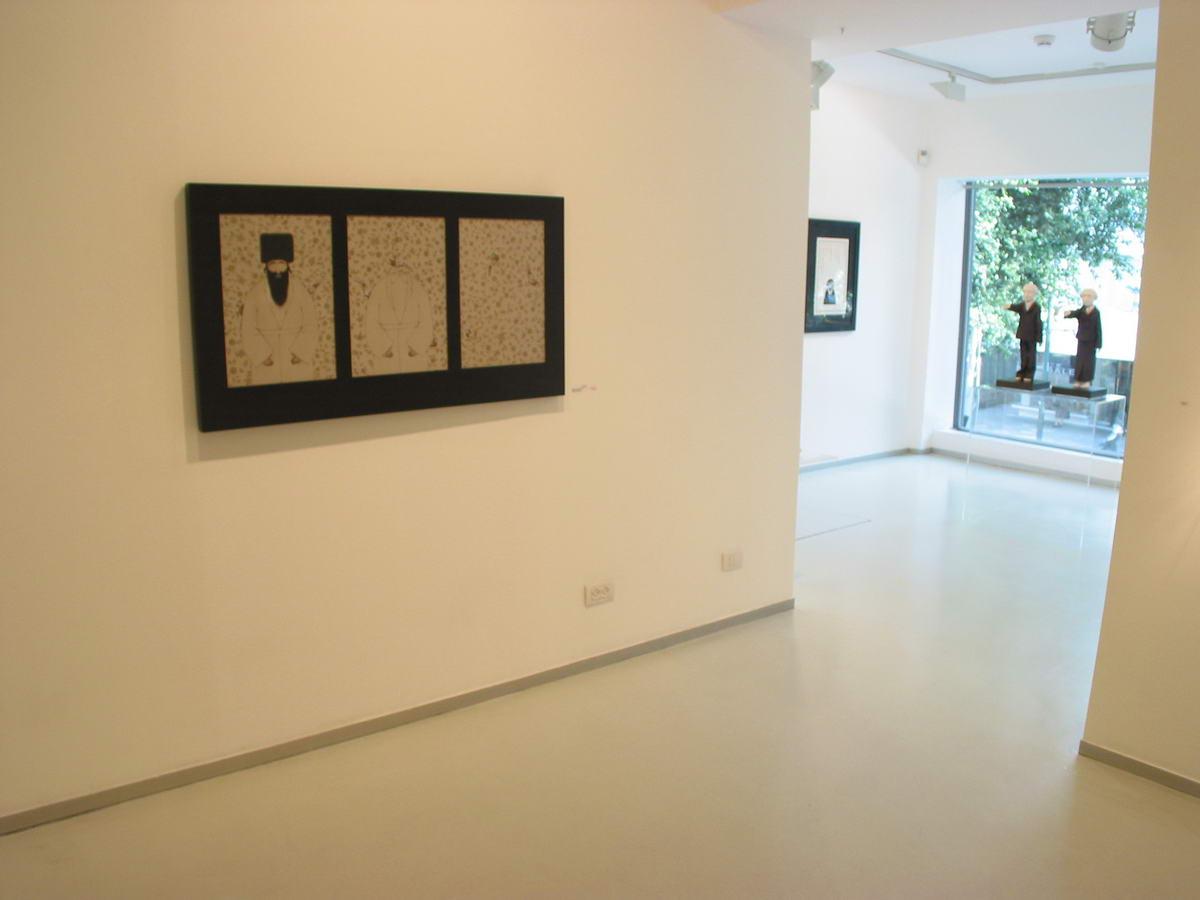 108Tree Rabbis Installation view