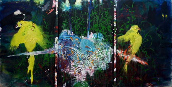 109Untitled_2011_oil on canvas_150x300 cm