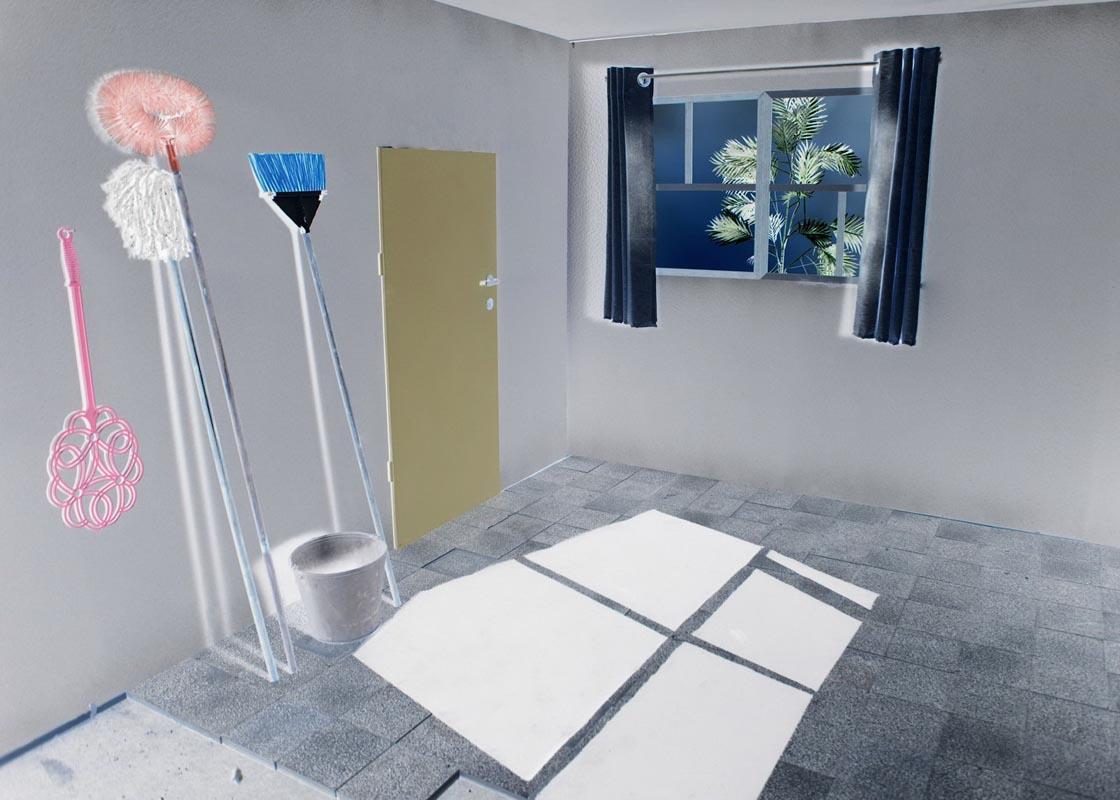 Interior, 54x80, $1,700