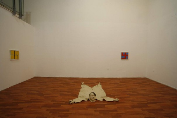201The Nazi Hunter's Room_2007_installation