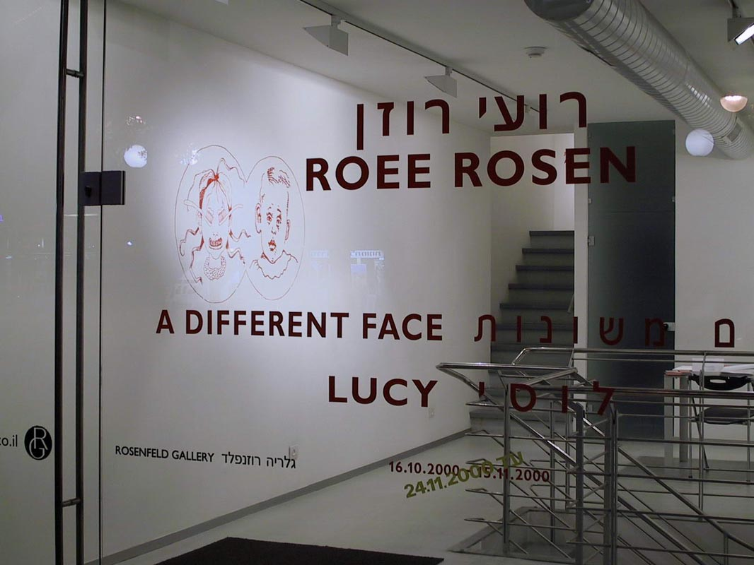 101A Different Face_Installation view
