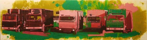 Geulim, 2010' 800x210 cm