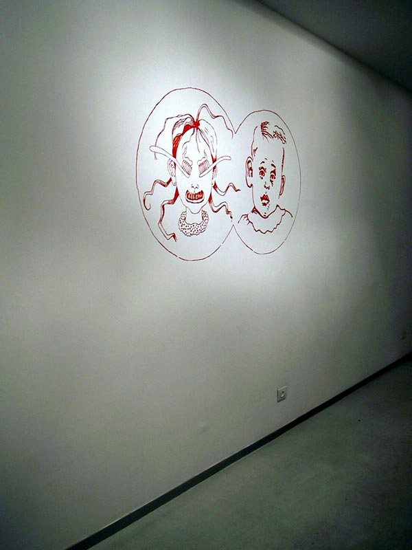 103A Different Face_Installation view