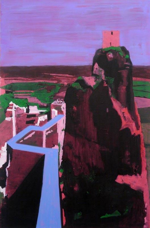 103Castle_2011_oil on canvas_180x120 cm
