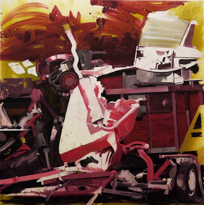 104Pile_2010_oil on canvas_220x220 cm