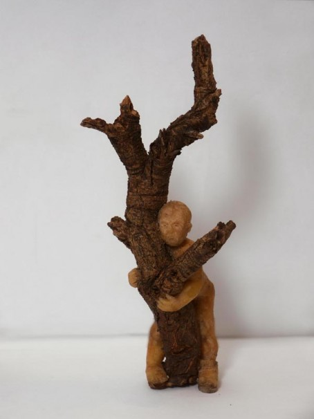 105Untitled_2012_mixed media, sculpted in wax_18
