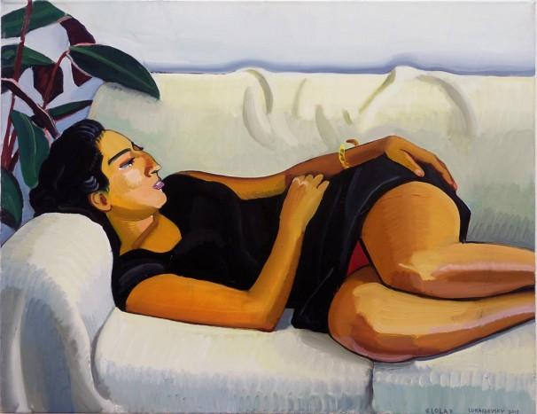 106Lola_2013, oil on canvas_90x70 cm