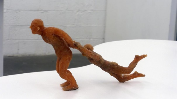 106Untitled_2012_mixed media, sculpted in wax_06