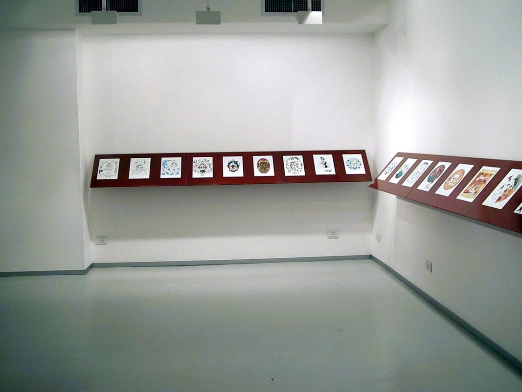 107A Different Face_Installation view