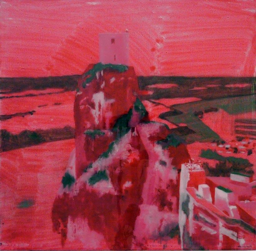 107Castle II_2011_oil on canvas_50x50 cm
