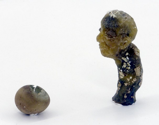 110Untitled_2012_mixed media, sculpted in wax_17