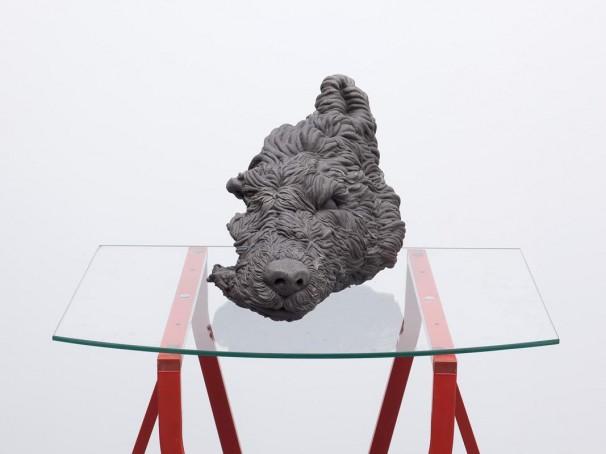 113Empty Wolf_2009 _Aluminum cast_40x25x25 cm