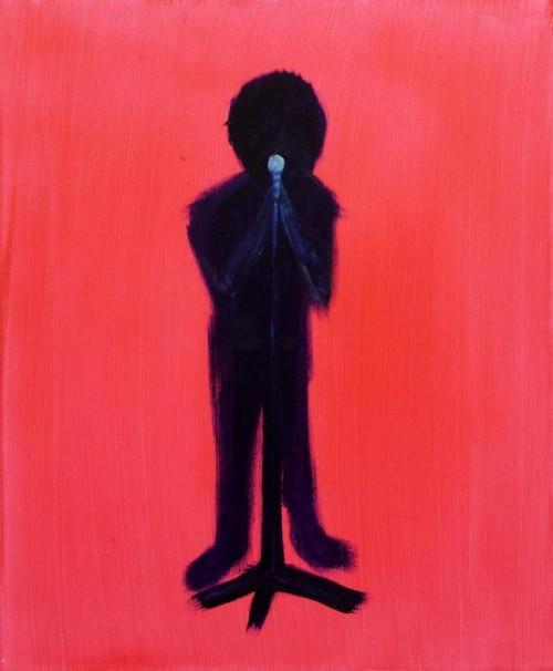 114The Soloist_2013_acrylic on canvas_60x50 cm