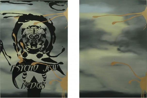 115Psycho Jew Redux_2003_oil on canvas_160x110 cm each
