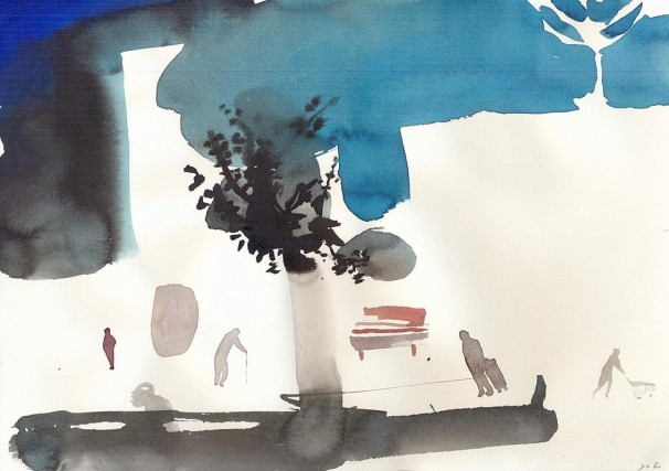 118Untitled_2010 _ink and watercolor on paper_21x30 cm