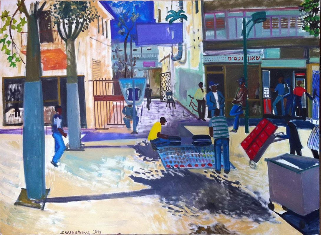 124Neve Shaanan_2013_oil on canvas_150x200cm.