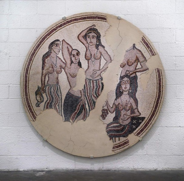 309Even Yona Mosaic (Ibn Yunes)_2011_mosaic_215 cm diameter