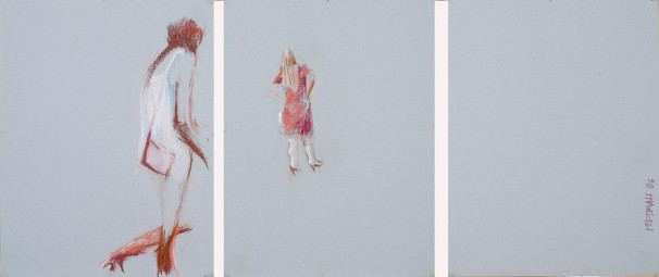 Untitled, 2006, pastel on paper, 64.5x50 each