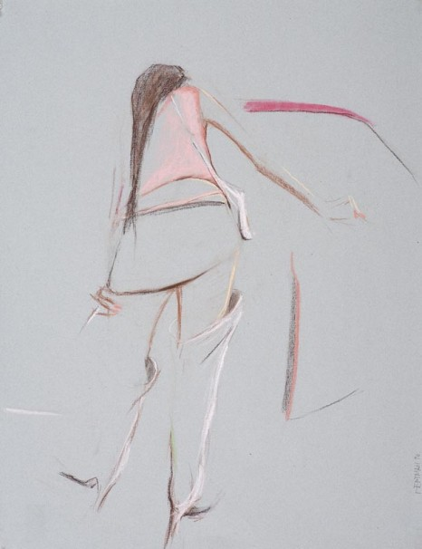 pastel on paper, 2006, 64.5x50