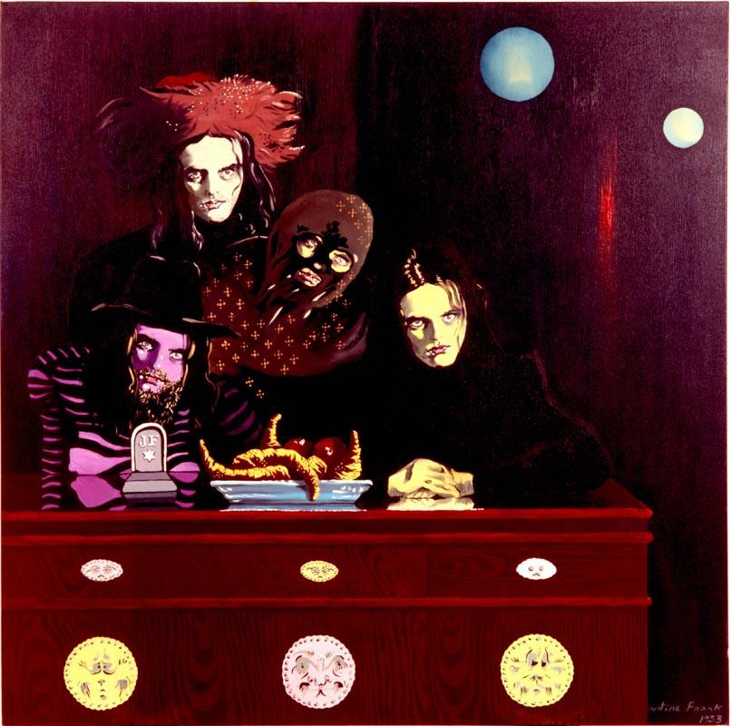 303Justin Frank, La Guilde de Frank_1933_Oil on canvas_100x100 cm