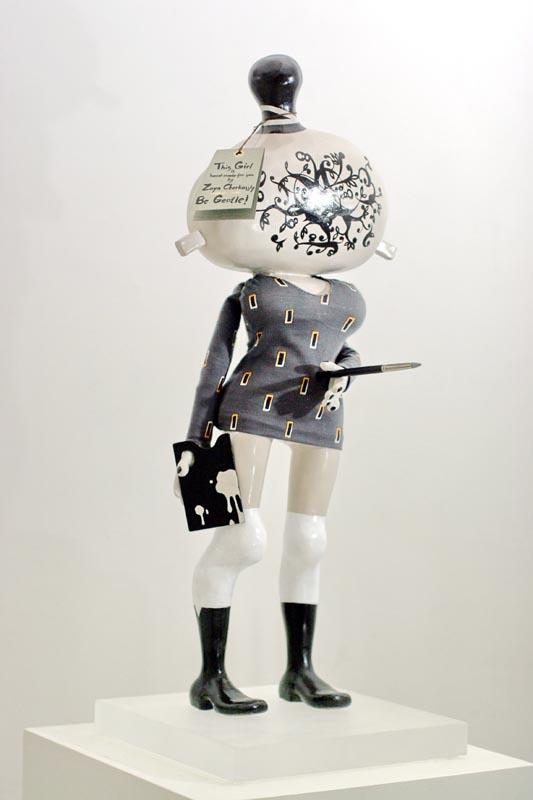 305GRACE III_2005_Sculpture_H. 50 cm