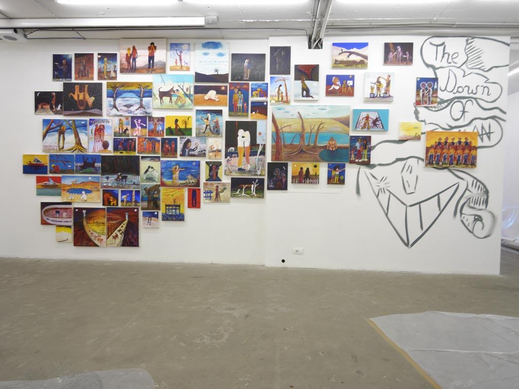 117Installation view