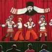 225Ukrainian Folk Dance_2015_markers on paper_ 15x24.5 cm