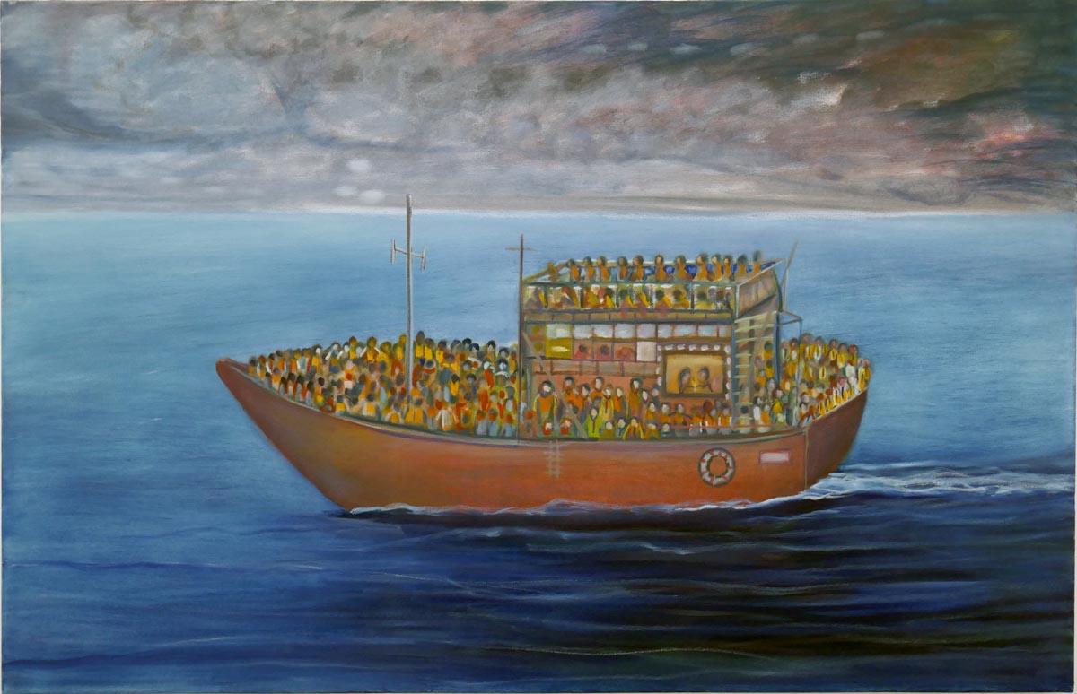 153Mogadishu_2016_oil on canvas_90x140 cm