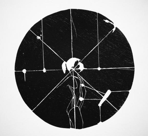 hila-ben-ari_-once-iii_2011_woodcut_35-diameter