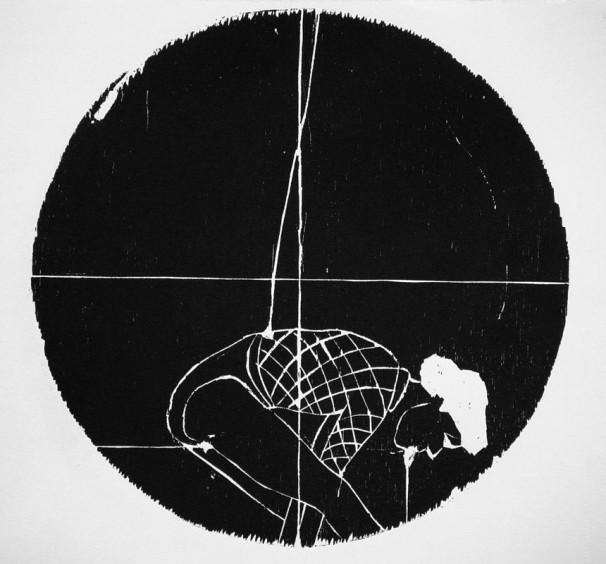 hila-ben-ari_-once-iv_2011_woodcut_35-diameter