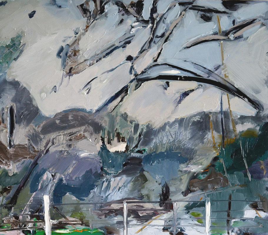 136Before Rain_2016_oil on canvas_70x80 cm