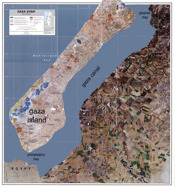 Gaza Canal, 2010, video, 9 min