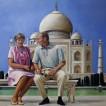 108Putin and Ludmila_2017_Oil on canvas_150x100 cm