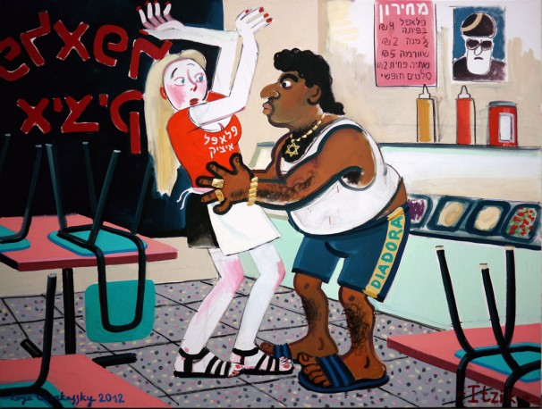 511Itzik_2012_Oil on canvas_150x200 cm
