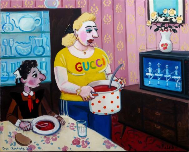 520Putsch_2012_Oil on canvas_ 120x150cm