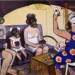 525The Chemical Warfare_ Oil on canvas_100x150 cm