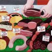 527They Eat Russian Lard_ 2013_Oil on canvas mounted on wood_ 70x159 cm