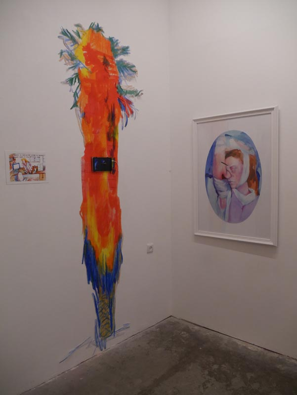 97Installation view