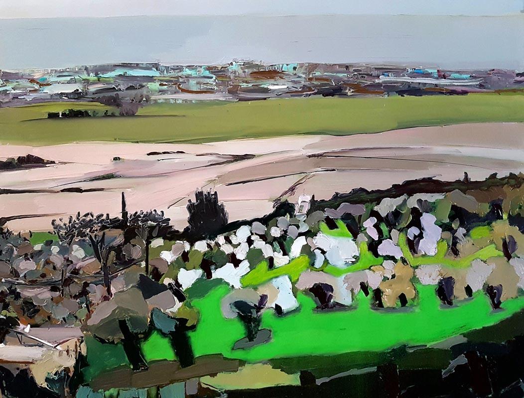 022Ein Hod View_201_, 100x130 cm