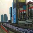 112Tel Aviv Ayalon 2018 Oil on canvas 150X120 cm