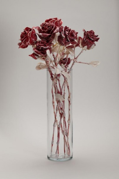 027Bouquet of Roses_2018_Polymer clay_H 30 cm_