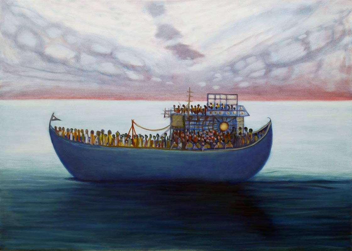 313Zanzibar_2016_Oil on canvas_100x140 cm