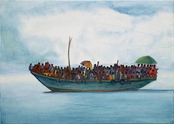 314Sierra Leone_2016_Oil on canvas_50x70 cm