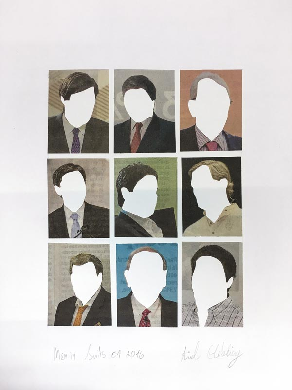 317Men in Suits No.1_2016_Collage_24x28 cm