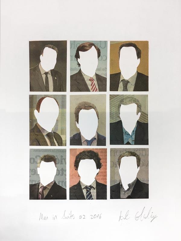 318Men in Suits No.2_2016_Collage_24x28 cm