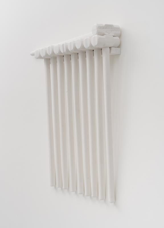 505Nymphs_2018_Plaster and wood_92X17X7 cm (each)_Photo Jesse Meredith