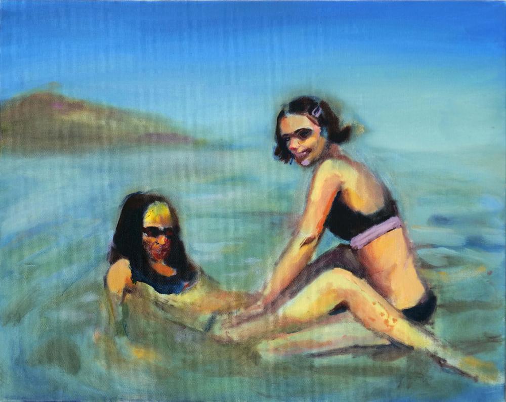 132Israeli Girls_2019_Oil on canvas_40x50 cm