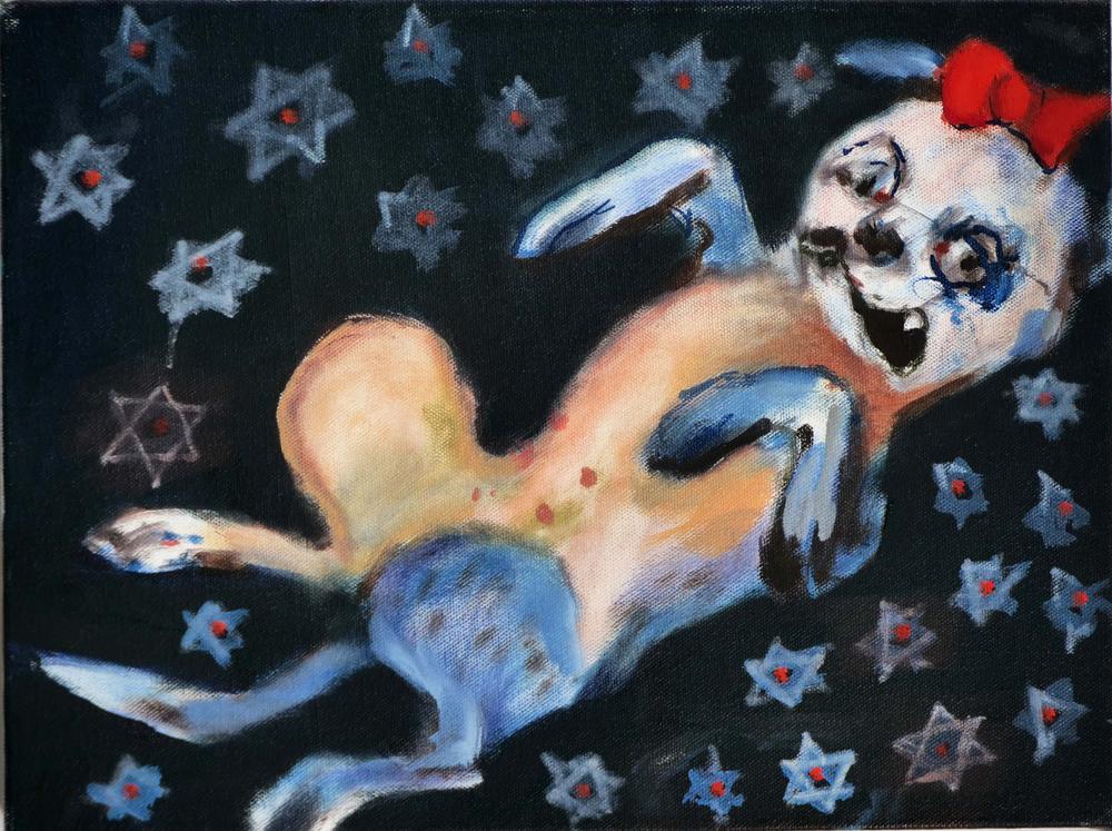 138The Jewish Princess_ 2019_Oil on canvas_ 30x40 cm